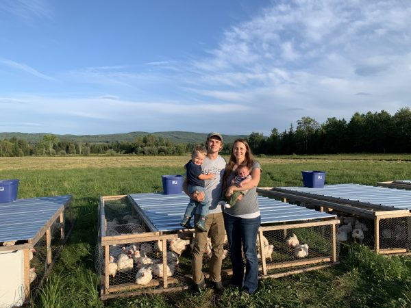Partner Farmers: Tyler and Lindsey Justice